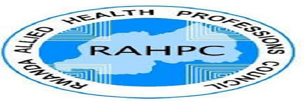 Internal Auditor(Part-time) at Rwanda Allied Health Professions Council (RAHPC): (Deadline 1 October 2020)