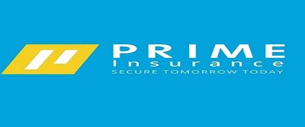 2 JOB POSITIONS AT Prime Insurance Ltd : ( Deadline : 17 – 20  January 2020 )