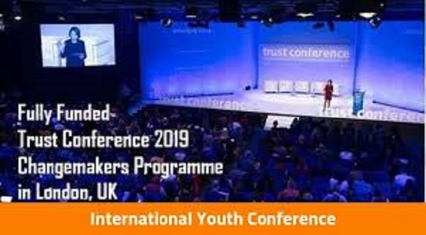 The Trust Conference Changemakers Programme 2019 (Fully Funded) (Deadline: 03rd May 2019)