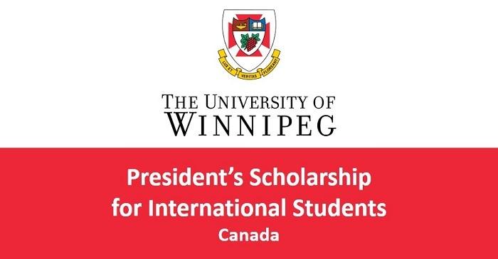Study in United States ; Winnipeg President's Scholarships for World Leaders for International Students (Deadline: 30 September 2019)