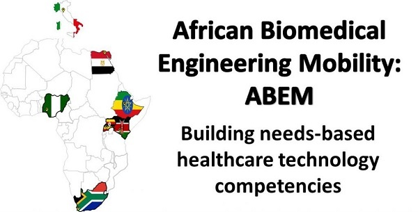 African Post graduate Scholarships by African Biomedical Engineering Mobility (ABEM)