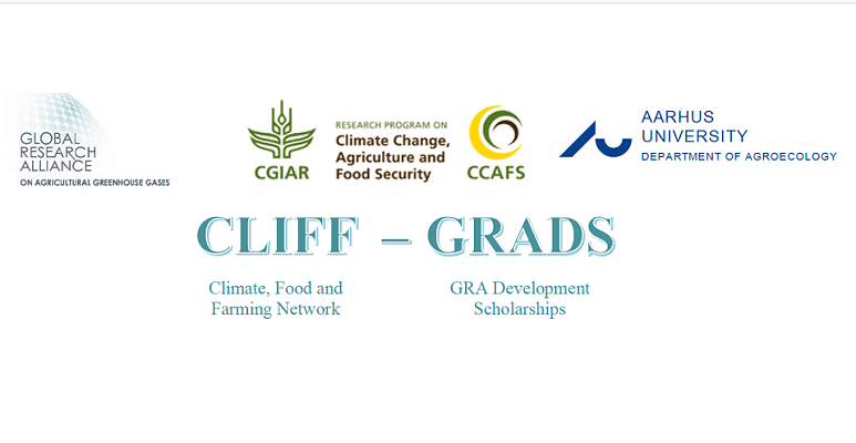 Global Research Alliance on Agricultural Greenhouse Gases (GRA) :CLIFF-GRADS SCHOLARSHIP 2019  (Dead)