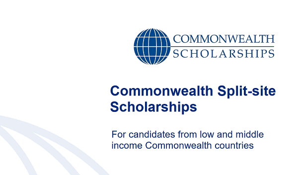 Phd Scholarships by Commonwealth Split-site Scholarships Program for international students (Deadline: 06 November 2019)