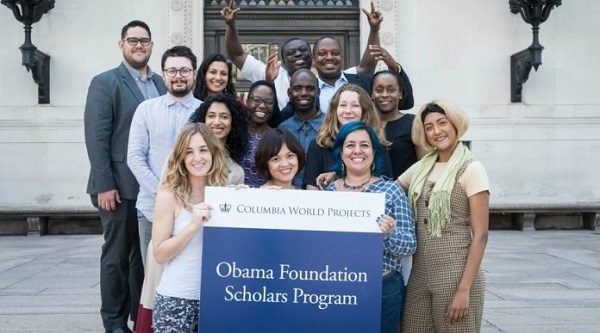 Obama Foundation Scholars Program 2020/2021 for emerging leaders to study at the University of Columbia (Fully Funded)