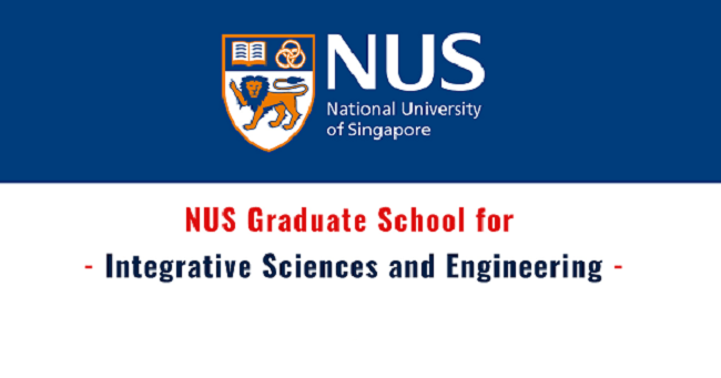National University of Singapore PhD Scholarship for International Students 2020 - 2021