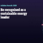 Ashden International Awards 2020 for Green Entrepreneurs from Developing Nations (£20,000 Prize), Deadline : 11 December 2019