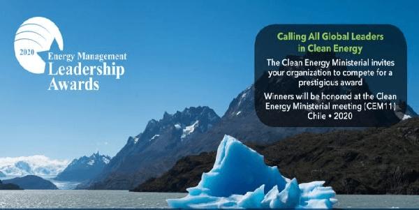 Call for Application : Energy Management Leadership Awards 2020 for Global Leaders in Clean Energy, Deadline 11 February 2020