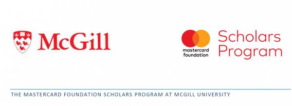 MasterCard Foundation Scholars at McGill University in Canada(Deadline : January 31, 2020)