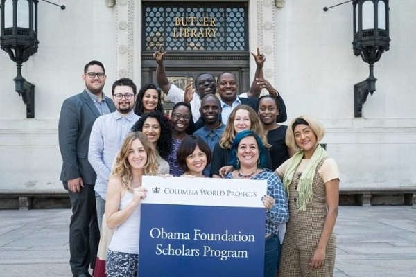 Obama Foundation Scholars Program for emerging leaders to study at the University of Columbia (Deadline :13 December 2019) 13.