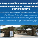 United Nations Office for Outer Space Affairs (UNOSA)/Japan Long-term Fellowship Programme 2020 on Nano-Satellite Technologies for nationals of developing countries. Deadline : 19 January 2020