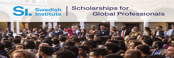 Swedish Institute Scholarships for Global Professionals (SISGP) 2020/2021 for Master's Level Studies in Sweden (Fully Funded) : (  Deadline : 20 February 2020 )
