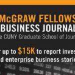 Harold W. McGraw, Jr. Center for Business Journalism Fellowship 2020 for Business Journalists ($USD $15,000), Deadline : January 10, 2020.