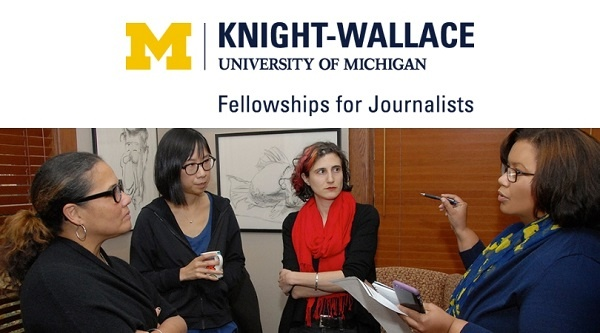 Kinight Wallace Fellowships for Journalists and the Livingston Awards at University of Michigan (Deadline: 1 December 2019 )