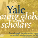 Yale Young Global Scholarsoutstanding High School Students worldwide (Scholarships/Financial Aid Available) By OFA – October 3, 2019(Deadline:  January 15, 2020     )