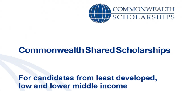 Master's Scholarships offered by Commonwealth Shared Scholarship Scheme to study at The University of Edinburgh (UK). Deadline : 18 December 2019