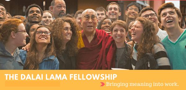 Dalai Lama Fellowship 2020 for emerging young Leaders : ( Deadline : 05 January 2020)