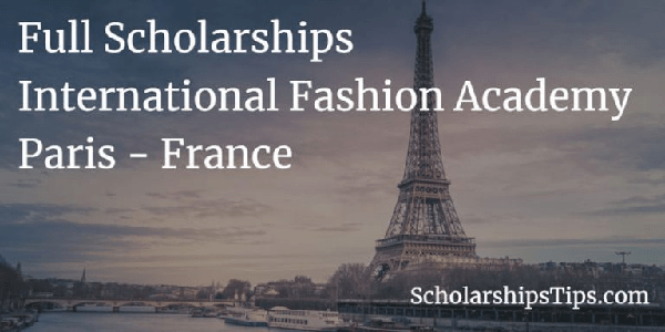 STUDY IN FRANCE : Bachelor's and Master's Scholarships from International Fashion Academy (IFA) for international students. Deadline : 15 March 2020