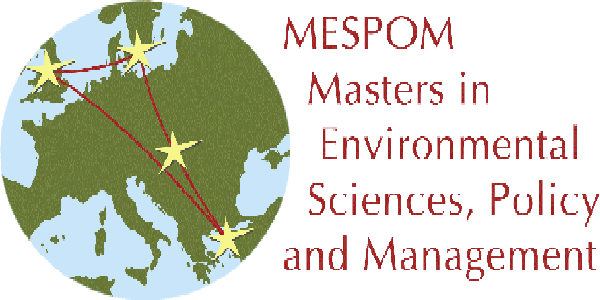 Scholarships from Erasmus Mundus for Master Degree in Environmental Sciences, Policy and Management(MESPOM) for international students in 2020-2022. Deadline : 30th January 2020