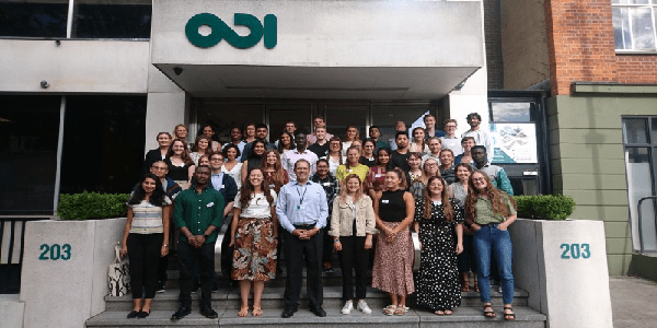 Overseas Development Institute (ODI) Fellowship Scheme 2020/2022 for young professionals, Deadline : 11 December 2019.