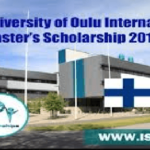 STUDY IN FINLAND : Master's Scholarships from University of Oulu for international students, Deadline: 22nd January 2020