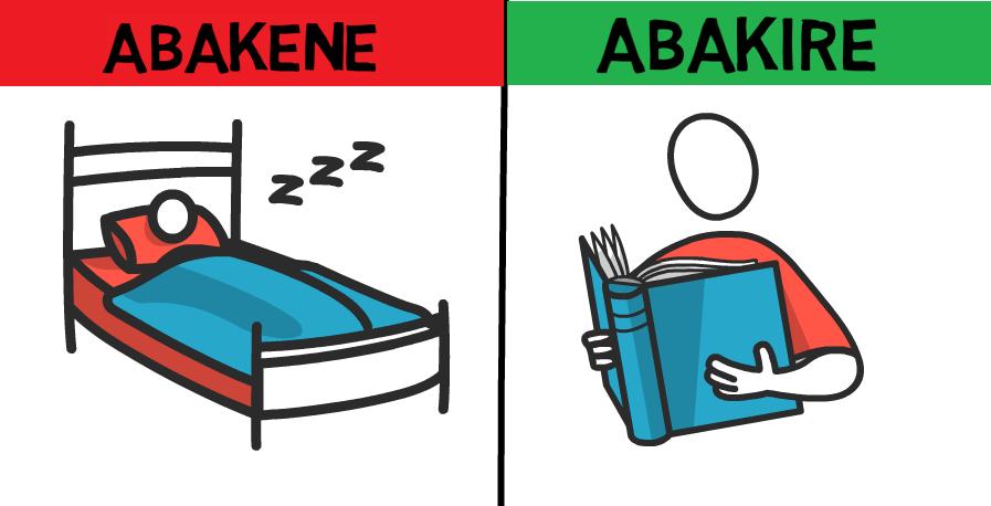 Ingeso 12 Abakire bose bagira, abakene ntibazigire