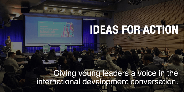 The World Bank Group and the Zicklin Center at Wharton 2020 Ideas for Action (I4A) competition, for students and Young professionals worldwide. Deadline : 29 February 2020.