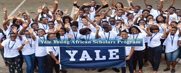 Yale Young African Scholars Program 2020 for African secondary school Students (Fully Funded) : ( Deadline : 11 February 2019 )