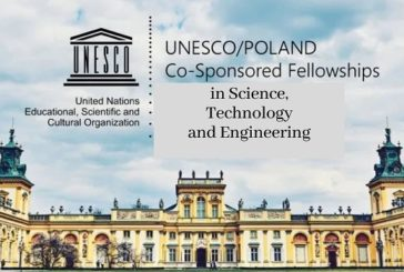 2020 UNESCO/POLAND Co-Sponsored Fellowships Programme Engineering: (15 April 2020)