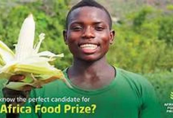 Africa Food Prize 2020 (US $100,000) Competitions and Awards: (Deadline 1 June 2020)