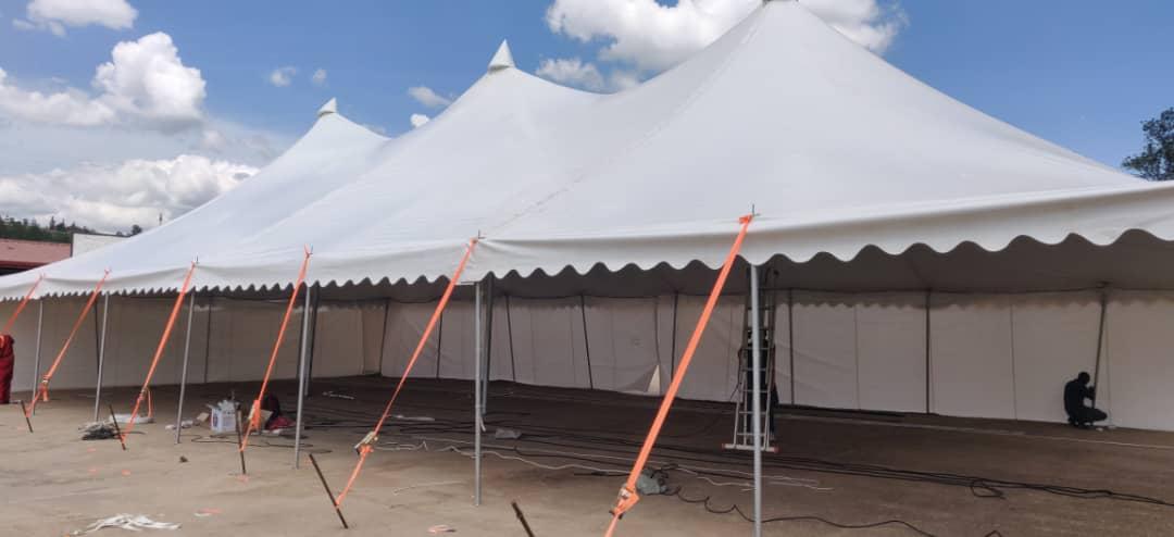 New Big Tent for Rental – Aho wakodesha big tente ku giciro cyiza muri Kigali no mu Ntara