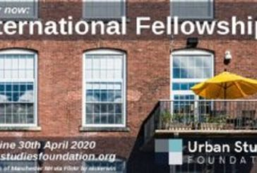Urban Studies Foundation (USF) International Fellowships 2020 for Urban Scholars from the Global South (Funding available): (Deadline 30 April 2020)