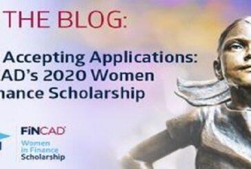 FINCAD Women in Finance Scholarship Program 2020: (Deadline 30 June 2020)