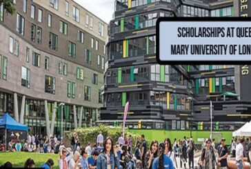 Scholarships at Queen Mary University of London: (Deadline 1 August 2020)