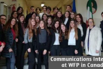 Communications Internship at WFP in Canada: (Deadline 11 June 2020)