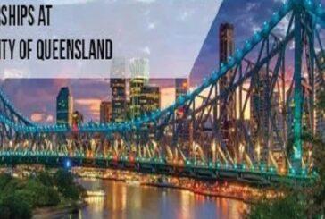 Top Up Scholarships 2021 at University of Queensland: (Deadline 31 December 2020)