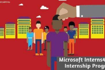 Microsoft Interns4Afrika Internship Program: (Deadline Varies)