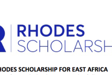 Rhodes East Africa Scholarship 2021 for postgraduate study at the University of Oxford, United Kingdom: (Deadline 31 August  2020)