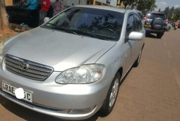 Toyota Corolla Alitis, 2003,  for sale; Price: 6,800,000frw