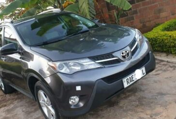 Toyota Rav 4, 2014 for sale ; Price: 25,000,000Rwf
