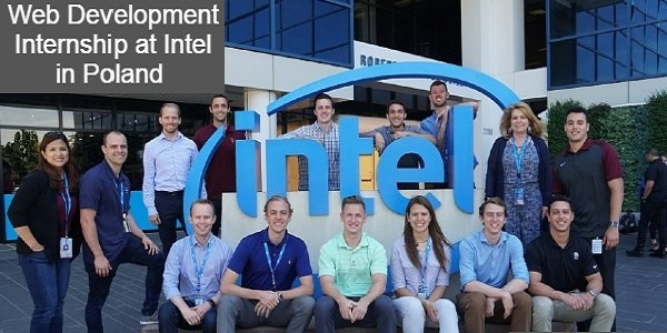 Web Development Internship at Intel in Poland: (Deadline 30 September 2020)