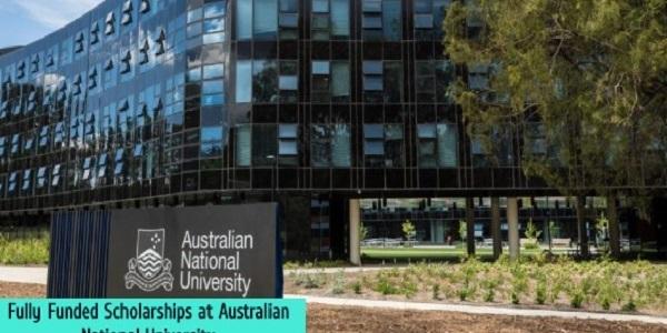 Fully Funded Scholarships at Australian National University: (DeadlineOngoing)
