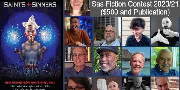 Sas Fiction Contest 2020/21 ($500 and Publication): (Deadline 2 October 2020)