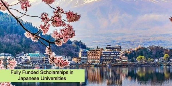 Fully Funded Scholarships in Japanese Universities: (Deadline Ongoing)