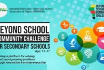 MWFAAN Beyond School Community Challenge 2020 for Nigerian Secondary School Students (Up to N1 million in Cash Prizes): (Deadline 12 September 2020)