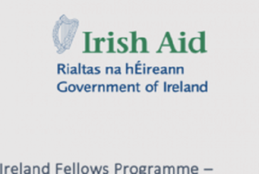 Ireland Fellows Programme – Africa 2021/2022 for Early to Mid-career Professionals (Fully-funded): (Deadline 13 September 2020)