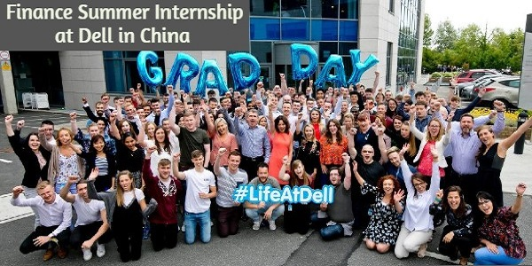 Finance Summer Internship at Dell in China: (Deadline	Ongoing)