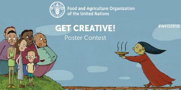 UN FAO World Food Day Poster Contest 2020: (Deadline 6 November 2020)
