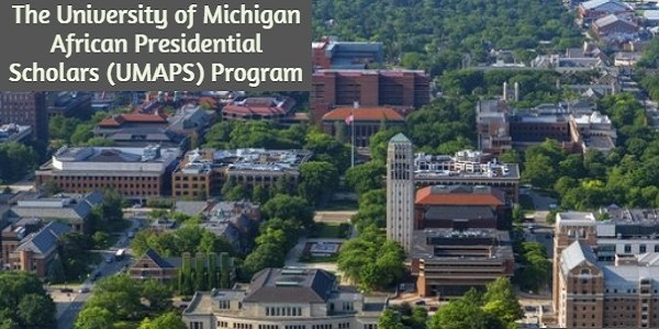 African Presidential Scholars Program at the University of Michigan: (Deadline 15 October 2020)
