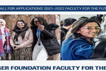 Schlumberger Foundation Faculty for the Future Fellowships 2021/2022 for Women in STEM: (Deadline 9 November 2020)
