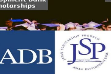 Asian Development Bank Japan Scholarship Program 2020 (Fully Funded): (Deadline	10 December 2020)